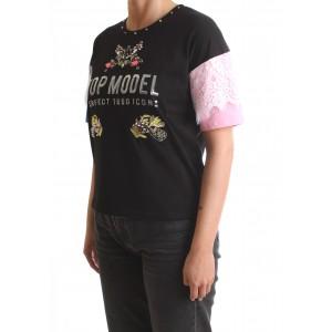 Silvian Heach Donna T-shirt Berriane