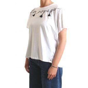 Pennyblack Donna T-shirt Ramiseto Bianca