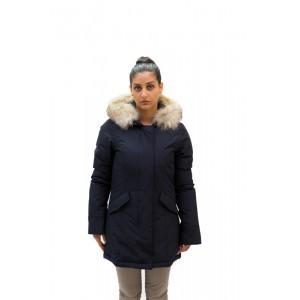 Woolrich Donna Arctic parka Blu, Rosso e Nero