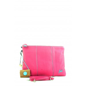 Pochette Gabs Beyonce in pelle Ciclamino