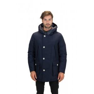 Woolrich Arctic Parka Uomo No Fur Blu
