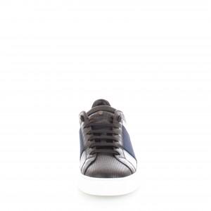 Brimarts Sneakers Uomo 410880 Nera elastico Blu