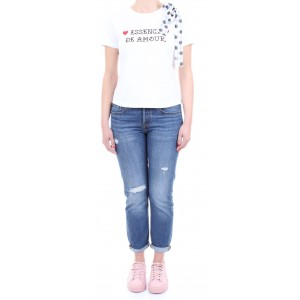 Silvian Heach T-shirt Donna Caeira Bianca