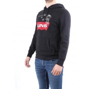Levi's X Peanauts Uomo Felpa Graphic Pullover Hoodie