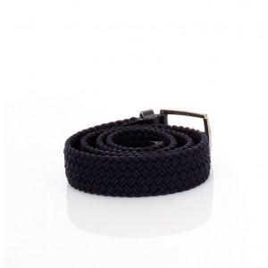 New Belt Milano Cintura Intrecciata Uomo Blu
