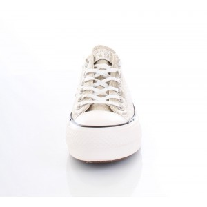 Converse All Star Sneakers Donna Glitter Ctas Clean Lift Oro