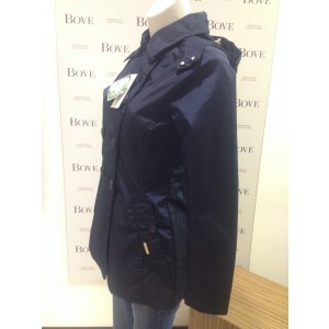 Woolrich Trench Donna New Dakota Parka Blu