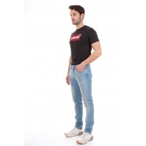 Levi's Jeans 501 Uomo Skinny Jeans Lavaggio Chiaro