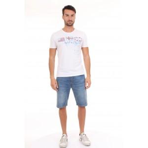 Napapijri T-shirt Uomo SHERWOOD Bianca