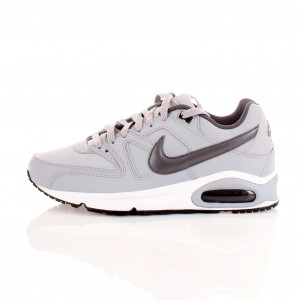 Nike Air Max Command In Pelle Grigia