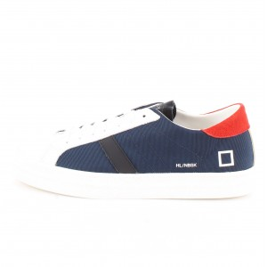 D.A.T.E. Uomo Sneakers Hill Low Nebraska Blue