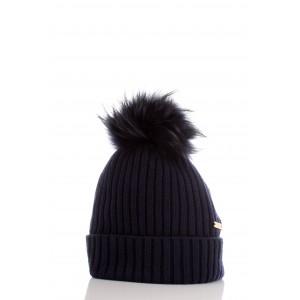 Woolrich Donna Berretto Soft Wool Hat Blu