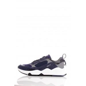 Brimarts Sneakers Uomo 315288 Blu e Grigia