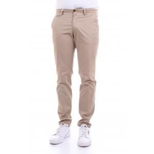 Briglia Uomo Pantaloni Tasche America In Gabardine col. Sabbia