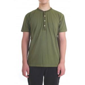 Diktat Uomo T-shirt DK77162 Verde Militare