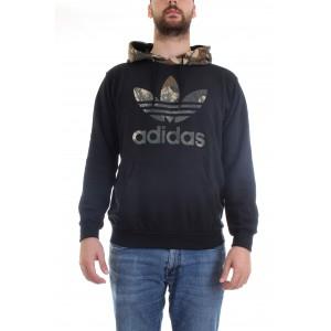 Adidas Originals Uomo Felpa Hoodie Camo GD5956