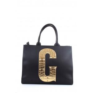 Gaelle Paris Shopper GBDA2075 Maxi Logo Oro