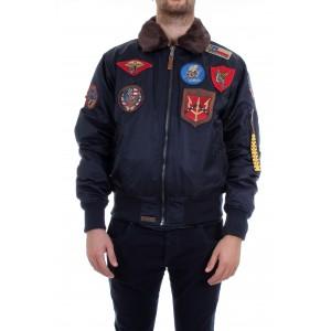 Top Gun Uomo Iceman Bomber Blu
