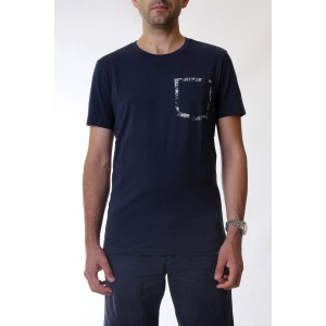 Woolrich T-shirt Uomo M.C. Pasley Pocket Tee 3731
