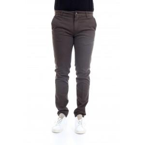 Camouflage Uomo Pantaloni CHINOS REY 17 N28 Marrone