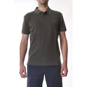 Woolrich Polo Uomo VINTAGE MACKINACK Verde