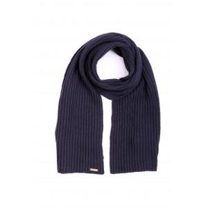 Woolrich Donna Sciarpa Soft Wool Scarf Blu