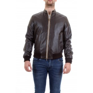 Manuel Ritz Uomo Giubbino Lightweight Jacket Marrone