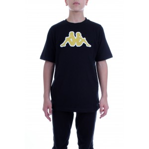 Kappa T-shirt Manica Corta Logo Airi Nera