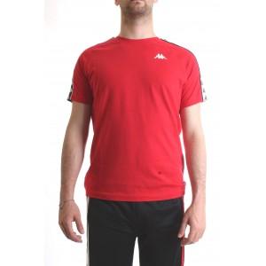 Kappa T-shirt Banda Coen Slim Rossa