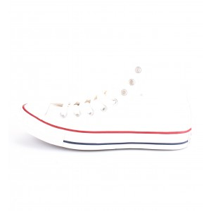 Converse All Star Sneakers Alte Bianche