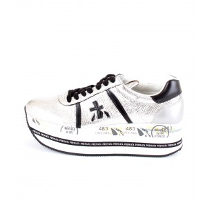 Premiata Sneakers Donna Beth 3643 Argento
