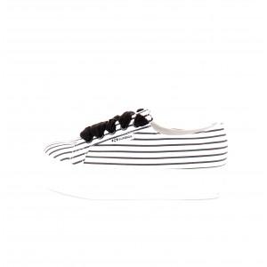 Superga Donna Sneakers 2790 Cotstripew Bianche e Nere