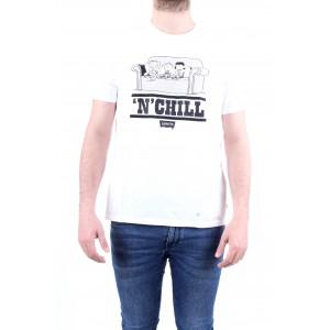 Levi's X Peanauts Uomo T-shirt Graphic Tee