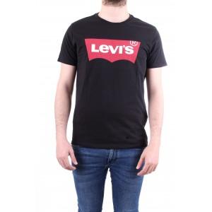 Levi's T-shirt Housemark Tee Nera