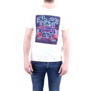 Levi's T-shirt Graphic Tee 2 Pack Bianca