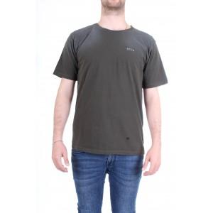 Officina36 Uomo T-shirt CUAM05 Verde Militare