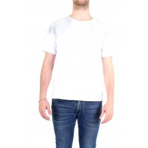 Officina36 Uomo T-shirt CUAM05 Bianca
