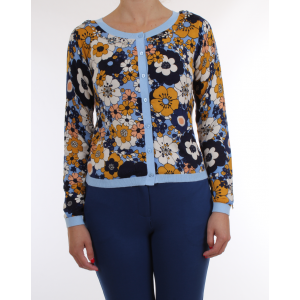 Scee by Twinset Cardigan corto Stampa Floreale