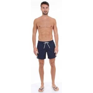 Lacoste Pantaloncino da Bagno in Taffetà Blu
