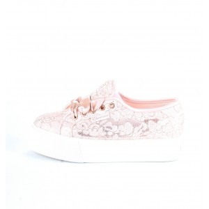 Superga Donna Sneakers 2790 Frosted Syntlace Rosa
