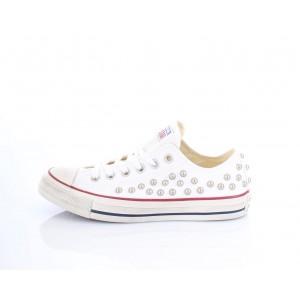 Converse All Star Sneakers Donna con borchie 160961C