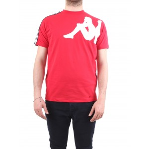 Kappa T-Shirt Manica Corta Authentic Buys Rossa