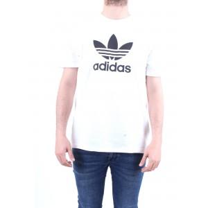 Adidas Originals T-shirt Trefoil Bianca