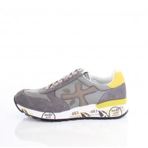 Premiata Sneaker Uomo Mick 2827 Grigio/Giallo