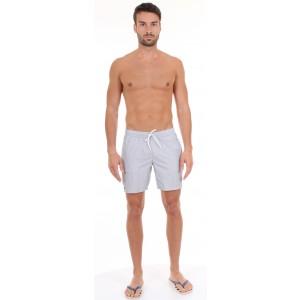Lacoste Pantaloncino da Bagno Tessuto a Righe