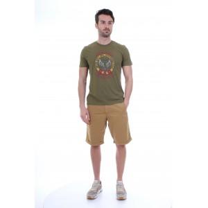 Aeronautica Militare T-shirt M.C. Uomo TS1471 Verde Militare