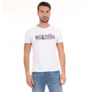 Napapijri T-shirt Uomo M.C. SAARO Bianca
