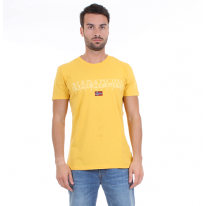 Napapijri T-shirt Uomo M.C. SAPRIOL Gialla
