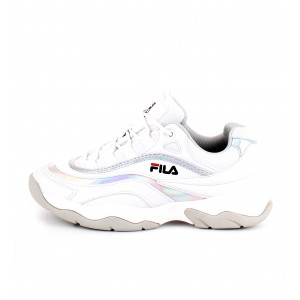 Fila Donna Sneakers RAY M LOW Bianche e Argento