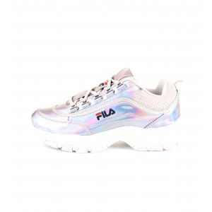 Fila Donna Sneakers STRADA M LOW Argento